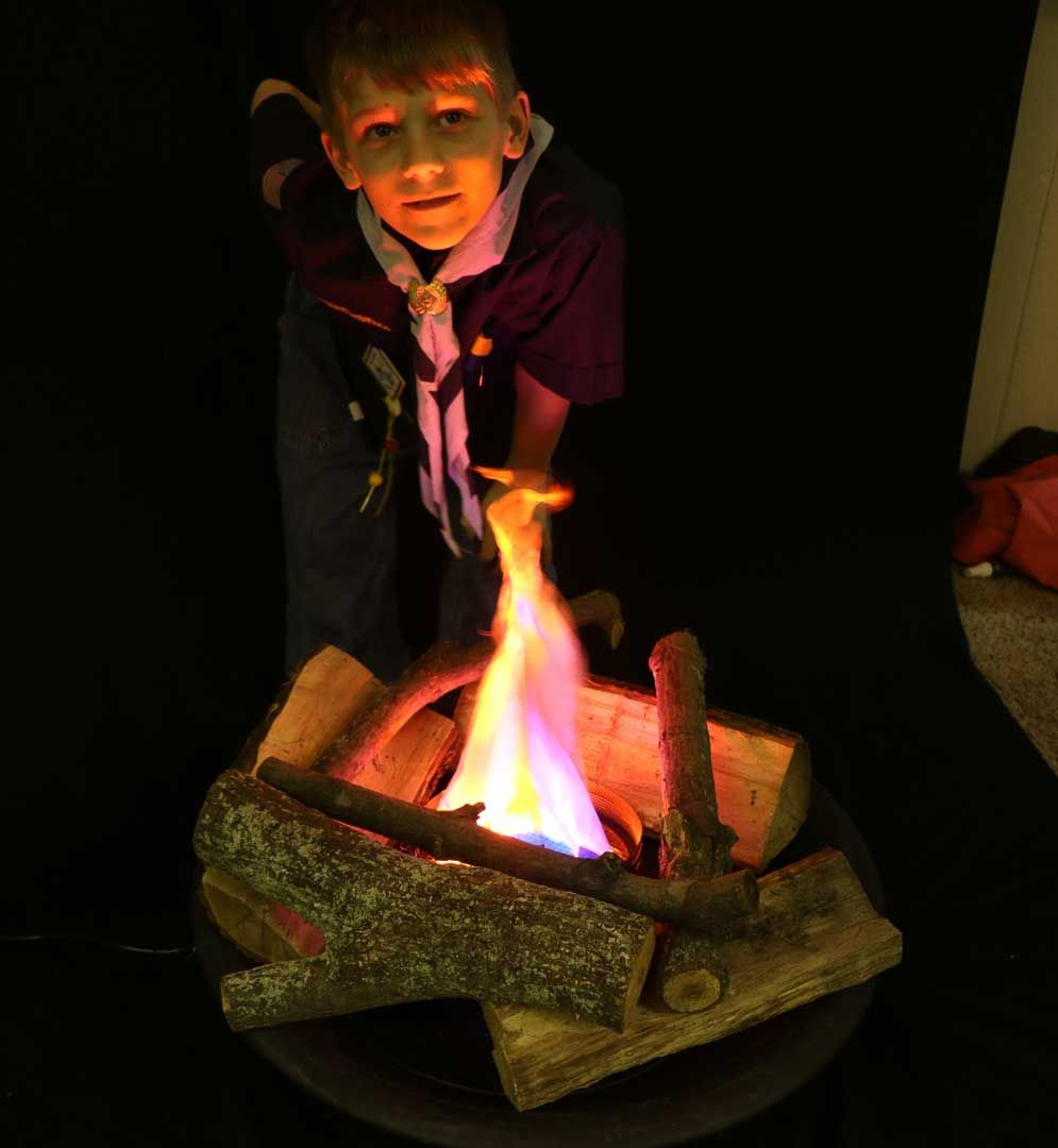 Home Fake Fire Fake Campfire Faux Fireplace