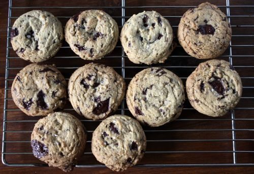 I love my own chocolate chip cookie recipe, but maybe it's worth trying something new ...