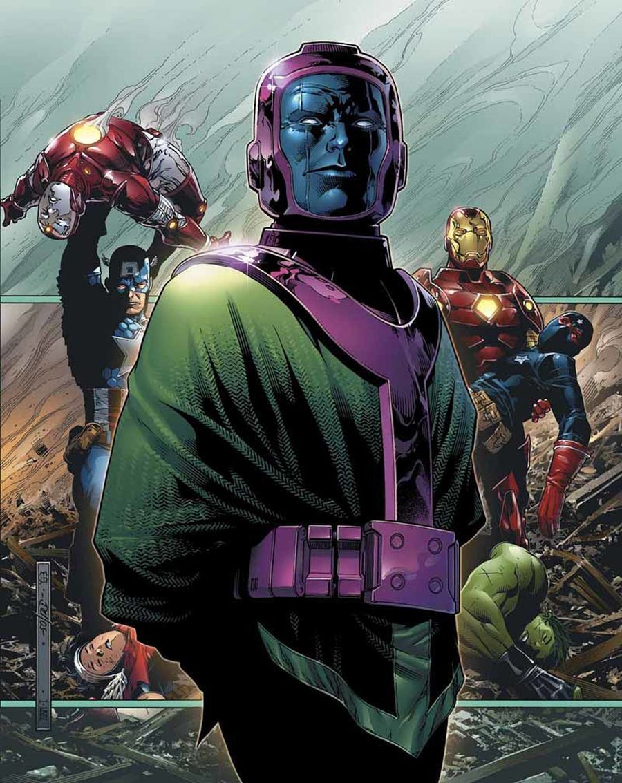Kang the Conqueror (Nathaniel Richards of Earth-6311) - Marvel Comics | Marvel comics art, Comic book villains, Kang the conqueror