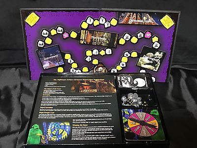 disney tim burtons the nightmare before christmas board game complete - Nightmare Before Christmas Board Game