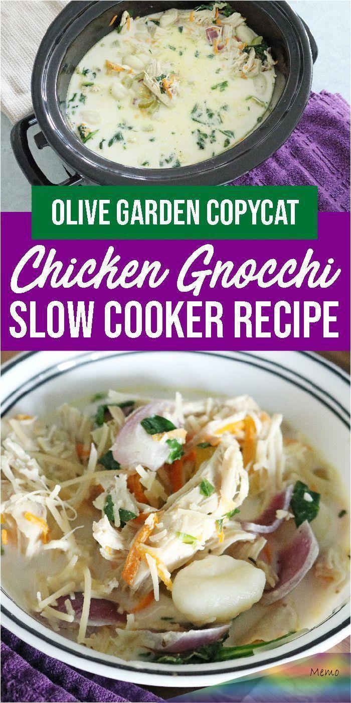 Oct 1, 2019 Olive Garden Chicken Gnocchi Soup is such an