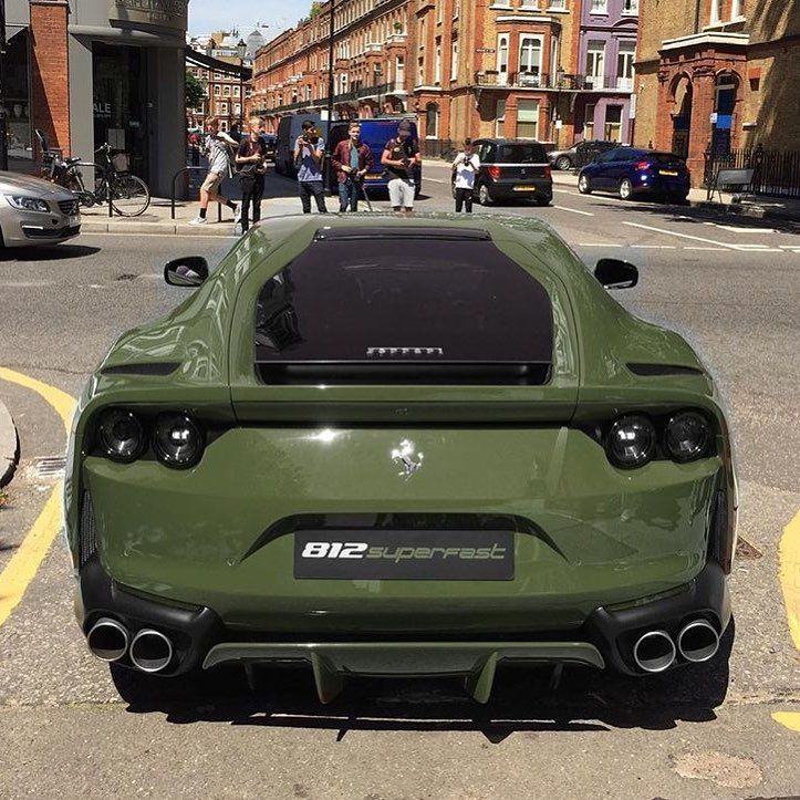 Military Green 812 Superfast Gets A 10 10 From Us By Corentin