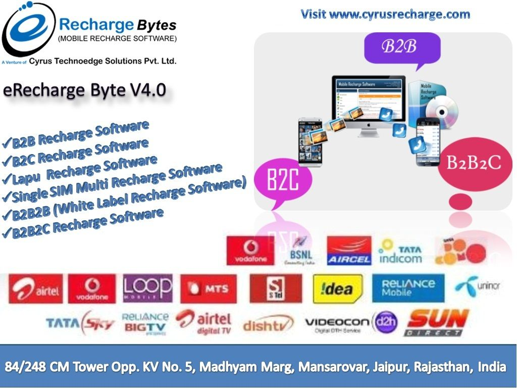 Cyrus is providing best mobile recharge software, travel