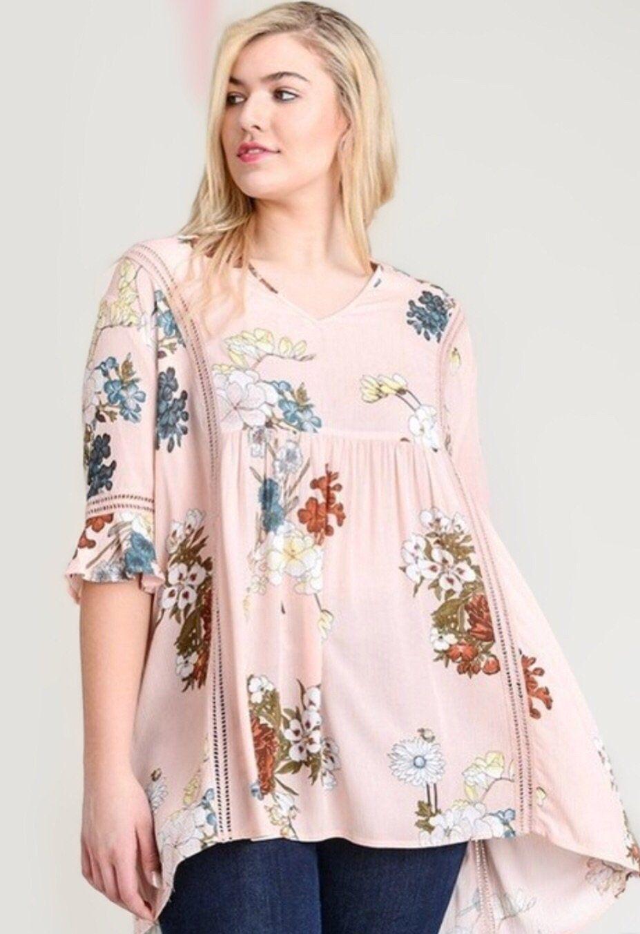 4275ca003e7 Floral Peasant Top