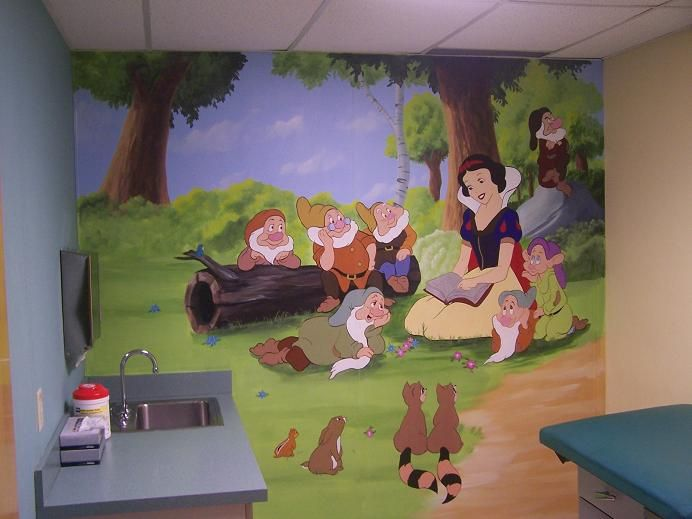 Pediatric Office Decor pediatrician office design. different theme for each room. | i'll