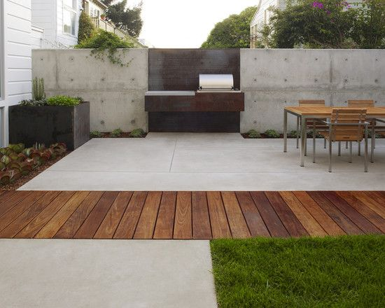Casco Construction Corp Concrete Patio Designs Concrete Patio
