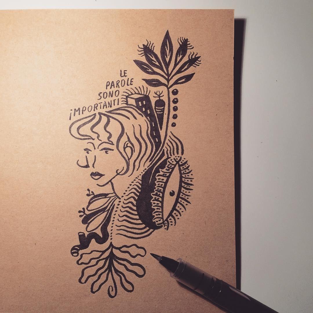 Mico_L on Instagram Drawing • Pilot pen