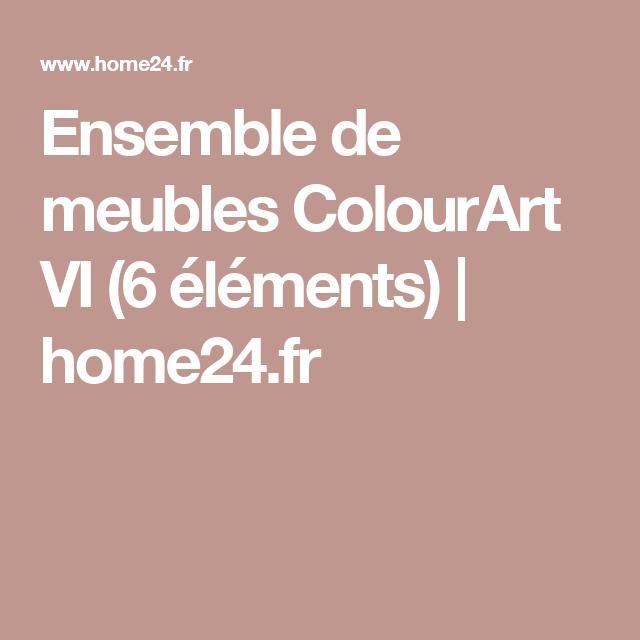 Ensemble de meubles ColourArt VI (6 éléments) | home24.fr