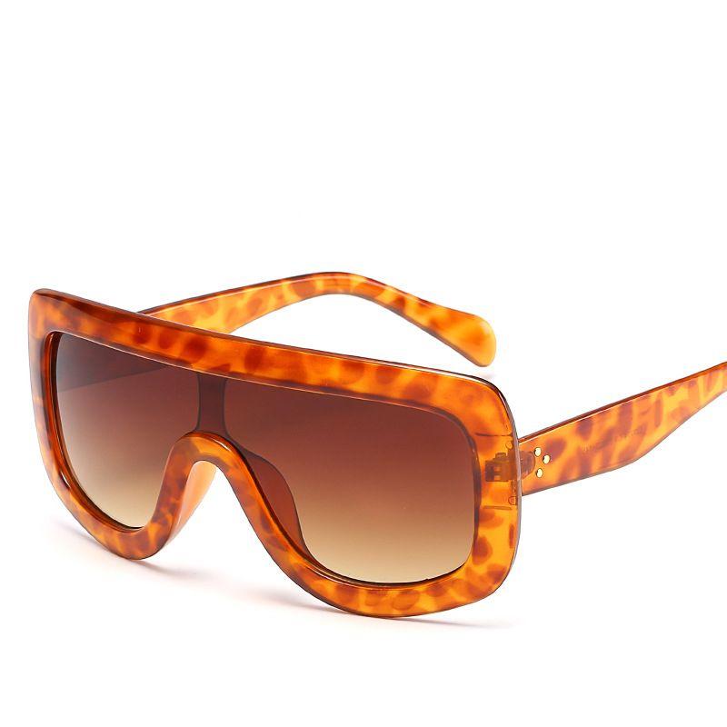 0d15e9222b Click to Buy    New Fashion Popular Women Sunglasses Square Glasses Big  Frame