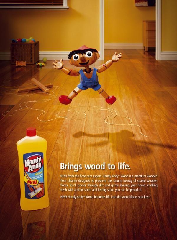 Ad 22 Handy Andy Wood Floor Cleaner Pinocchio Wood Floor