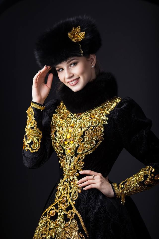Miss Russia Contestants in National Costumes - THESE ARE ALL SO PRETTY <3