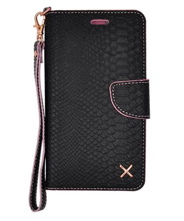Loving this Crock Matte Black Wallet Case for iPhone 6/6s on #zulily! #zulilyfinds