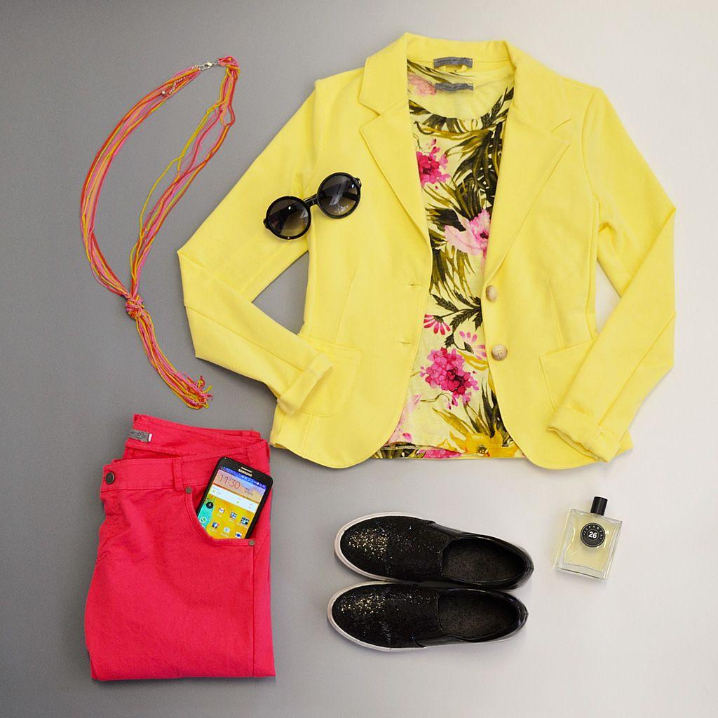 giacca COLORI, shirt GIBES, pantalone SORBETTO