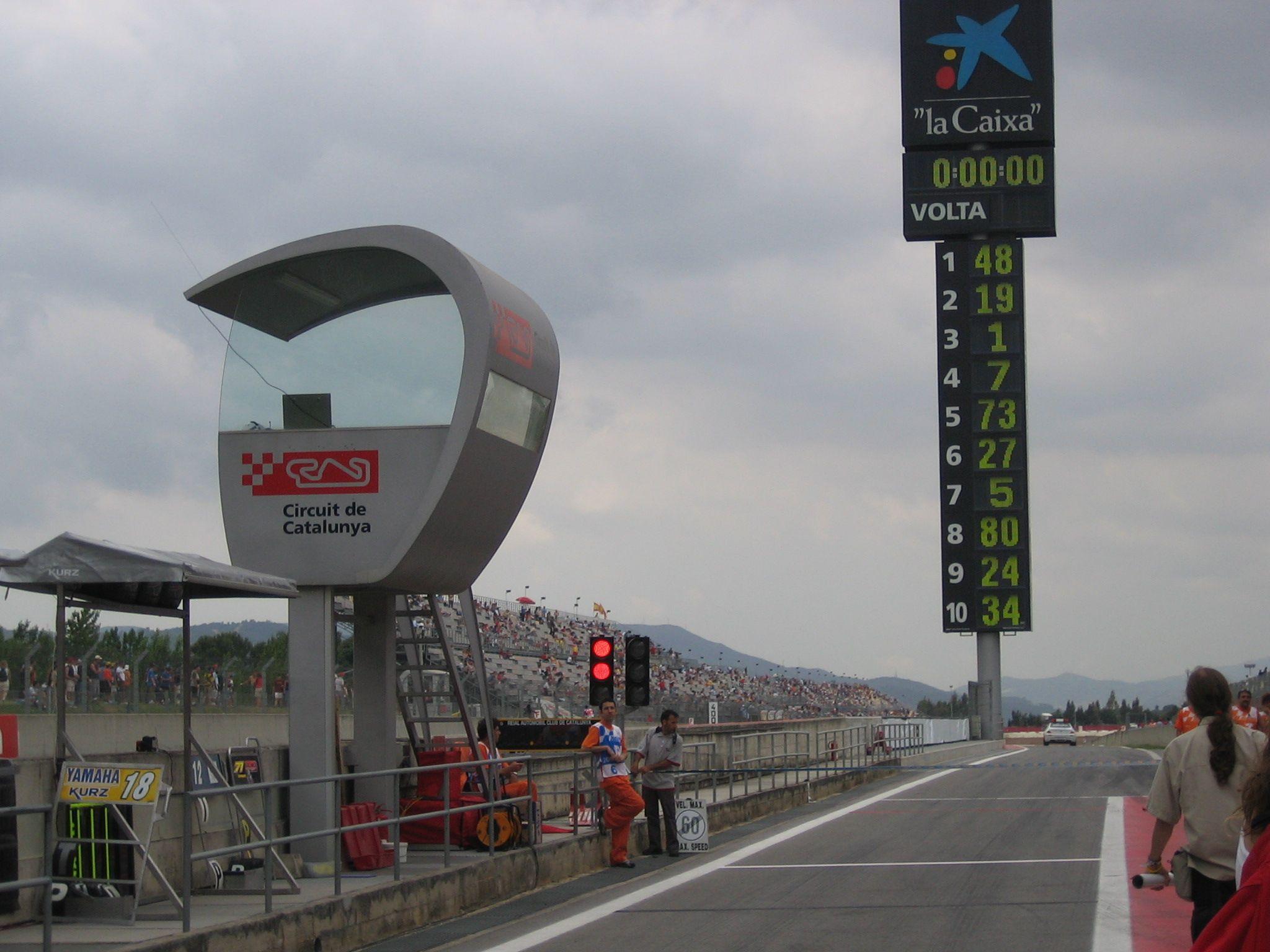 Circuito Montmelo : Imagen de circuito de montmelo evolución del motociclismo pac
