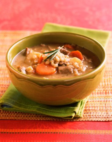 Beef Barley Soup Recipe with Vegetables