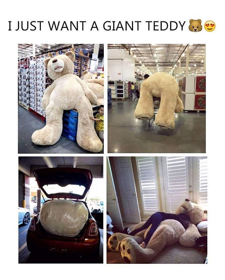 See This Instagram Photo By Cunform 918 Likes Huge Teddy