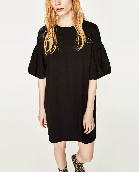 b64fa7e8 Image 2 of PUFF SLEEVE DRESS from Zara | Style for Catherine ...