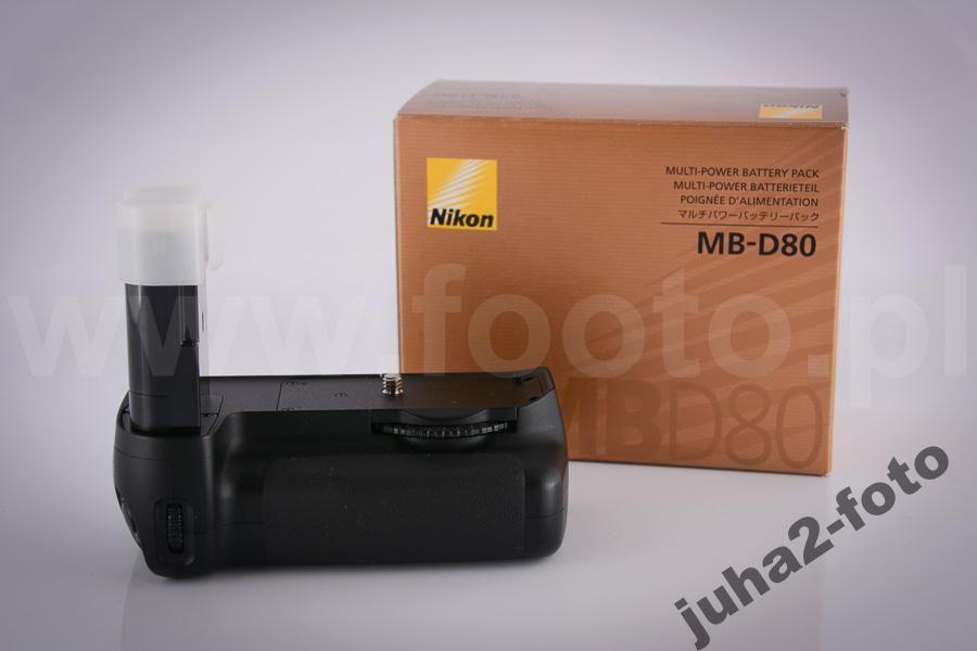 Stacey Gripman Nikon Mb D80 Mbd80 Oryginal J Nowy D90 D88 Nikon