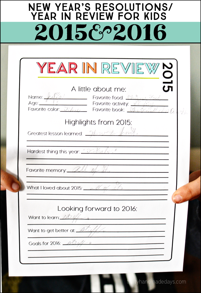 Printable New Year S Resolutions For Kids 2016 New Year S Eve Activities New Years Activities New Years Resolution