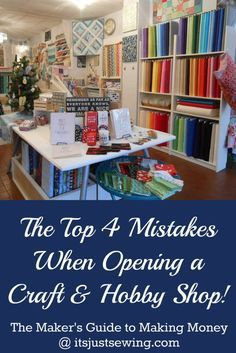 Don't Make the Same Mistakes I Made...PLEASE | Craft shop ...