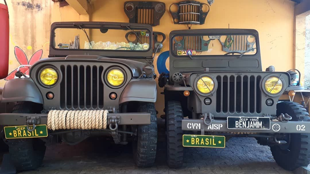 Pin Di Jeeps Willys