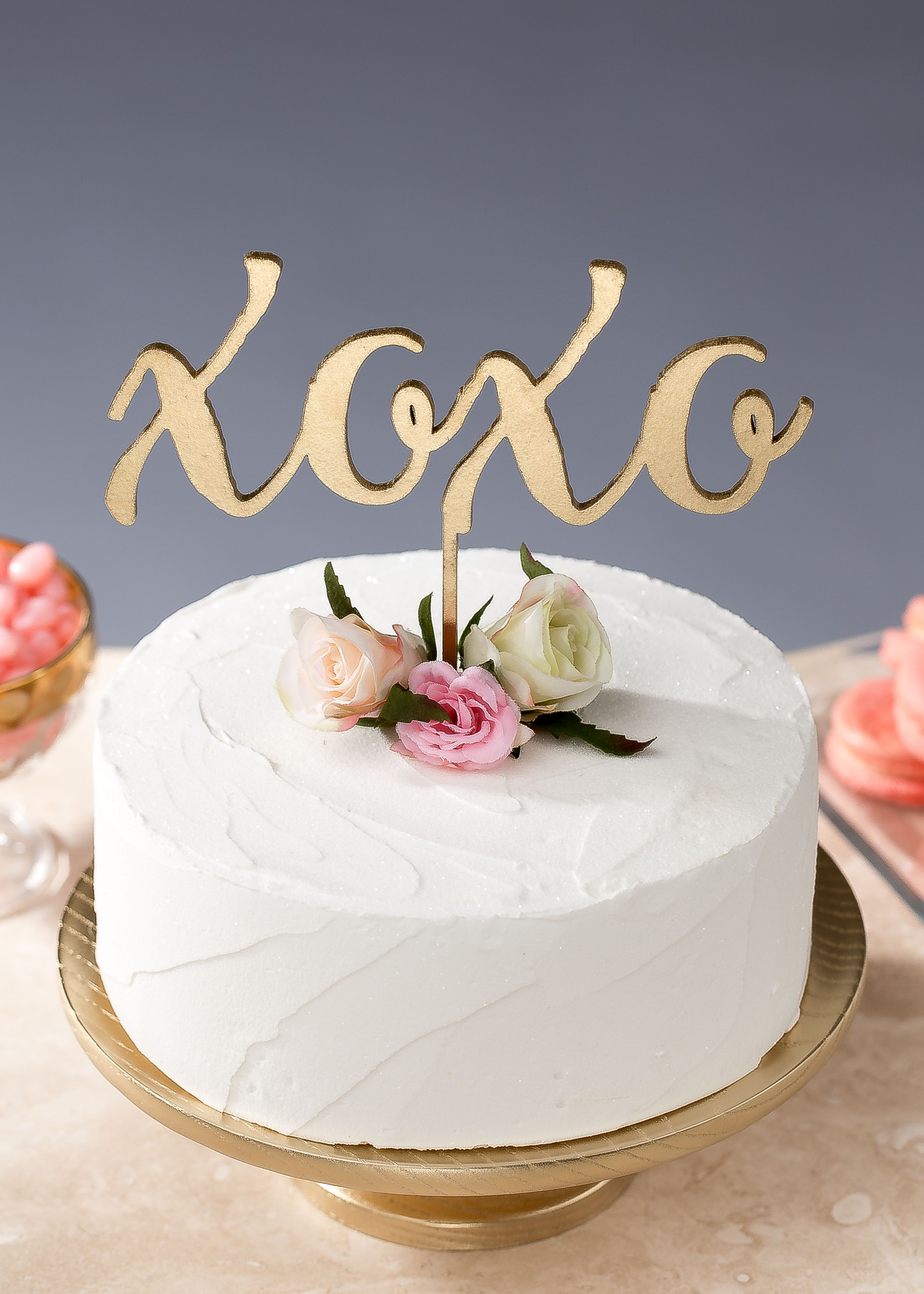 Xoxo Wedding Cake Topper By Better Off Wed On Etsy Caketopper Cake Creative Cakes Cake Toppers