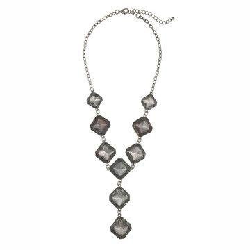 black diamond tone with interesting squarish shapes.