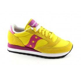 SAUCONY S1044-364 JAZZ ORIGINAL giallo rosa scarpe donna sneakers