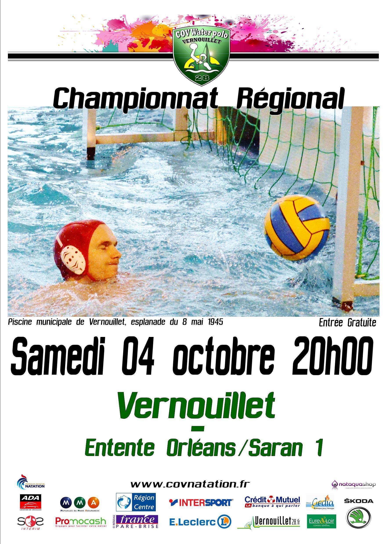 04 10 2014 Match De Waterpolo Aller Vernouillet Orleans