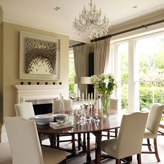 Classic Dining Rooms  10 Of The Best  Dark Wood Neutral And Room Gorgeous Classic Dining Rooms Design Inspiration