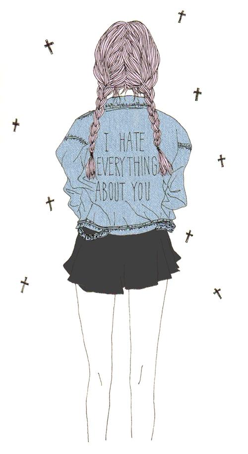 Pinterest C A T H E R I N E Dessin Art Tumblr Fille D