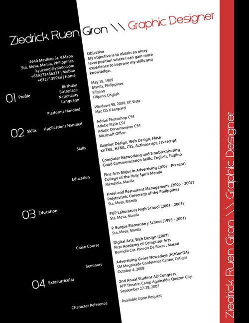 25 Creative Resume Designs That Will Make You Rethink Your Cv Resume Design Creative Graphic Resume Resume Design Free