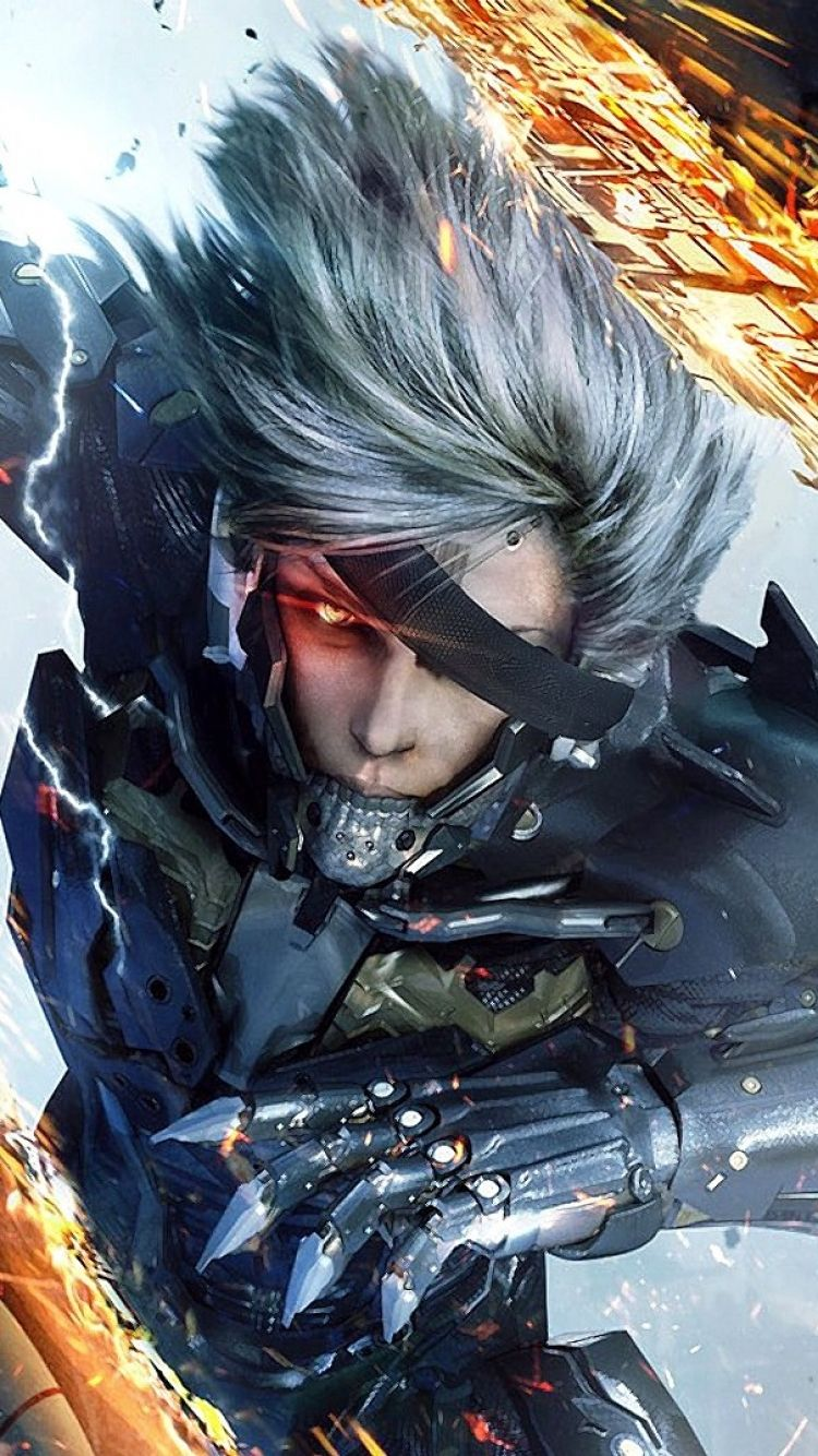 Iphone 5 Video Game Metal Gear Rising Revengeance Wallpaper Metal Gear Rising Metal Gear Metal Gear Solid