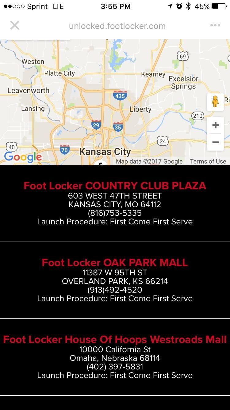 Mishap on Footlocker Release Calendar or Sketchy Employees? | Nike ...