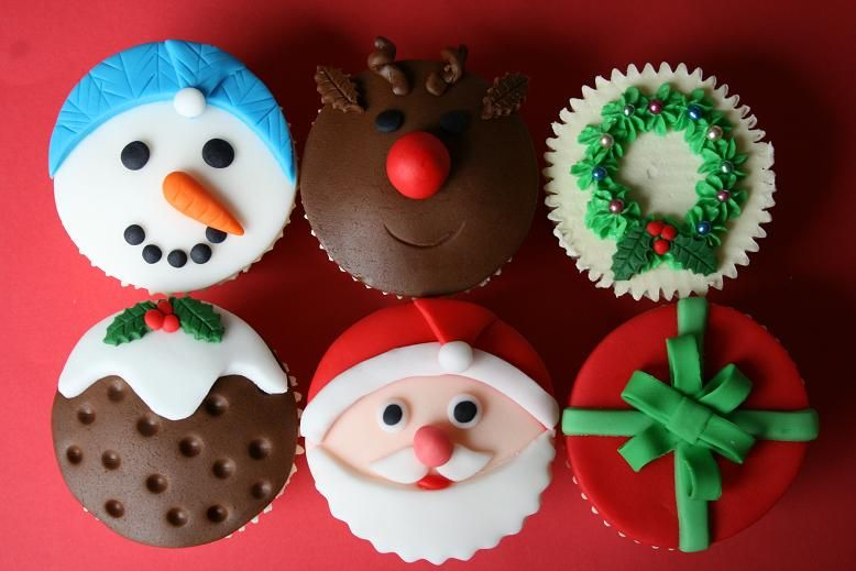 Cupcake Decorating Ideas | Christmas decorations cupcakes 300x200 Christmas baking ideas with the ... | Cupcakes | Pinterest | Christmas baking Decoration ... & Cupcake Decorating Ideas | Christmas decorations cupcakes 300x200 ...