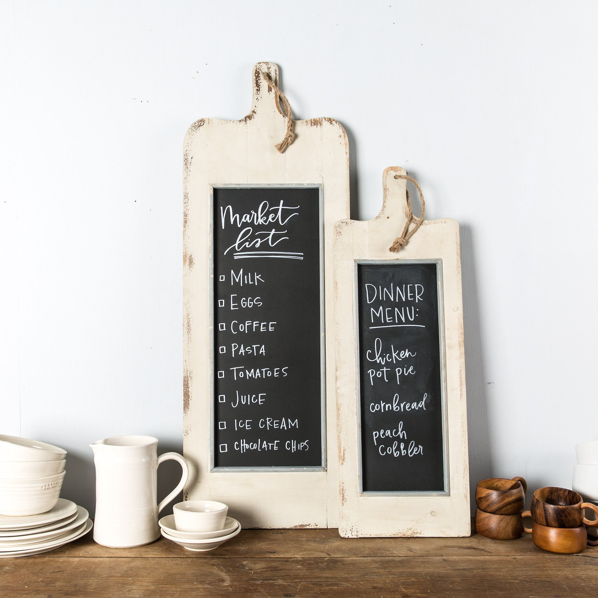 White Paddle Chalkboard | Joanna gaines, Magnolia and Chalkboards