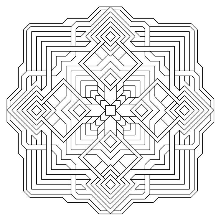 Quantum_geometry_coloring_pages.jpg   Mandalas   Pinterest ...