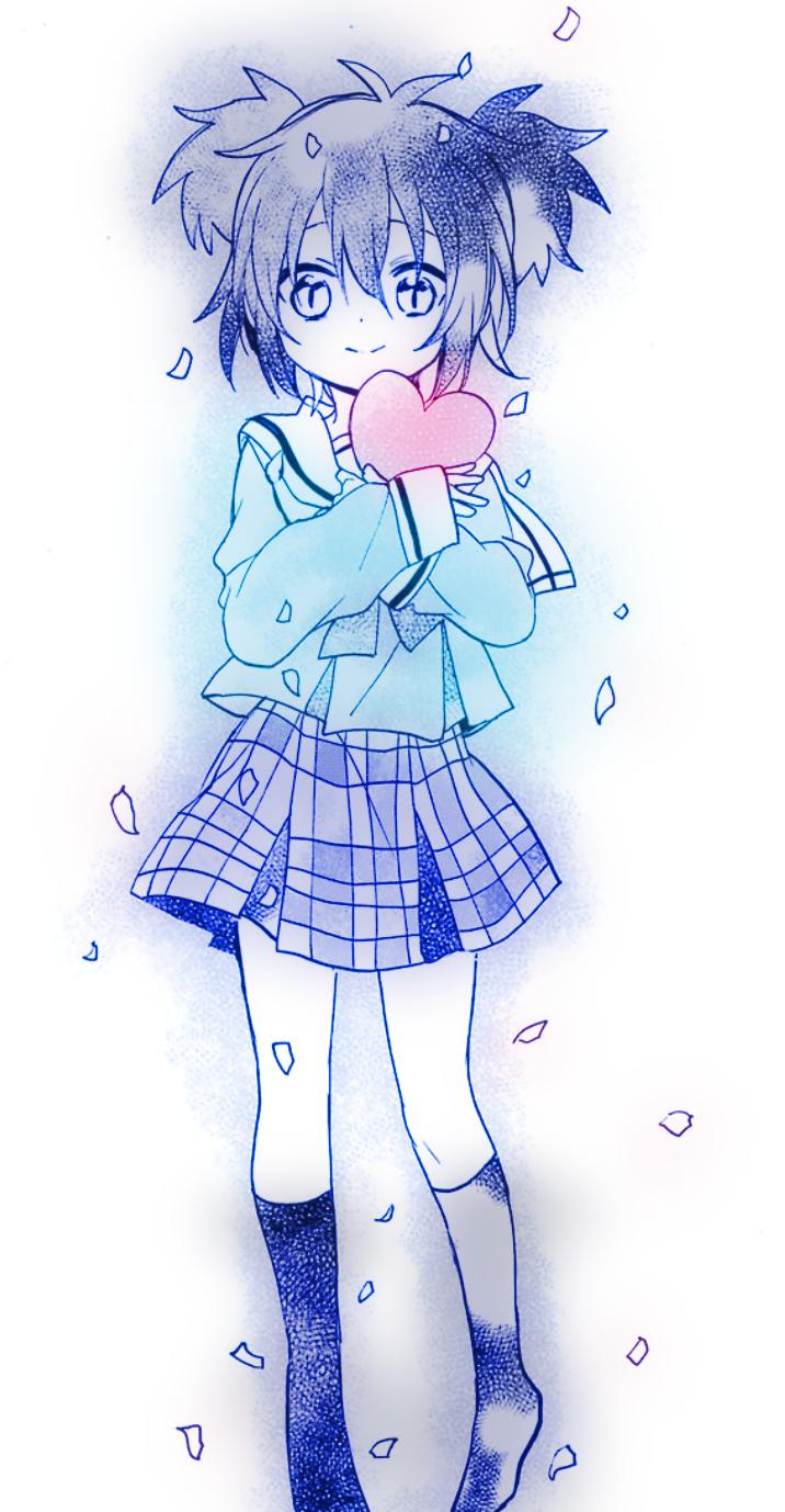 Shio Kobe Happy Sugar Life Extra Life Character Design Animation Anime Anime Love