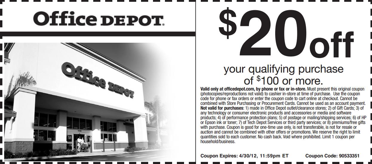 Office Depot Customer Feedback Survey Home depot coupons