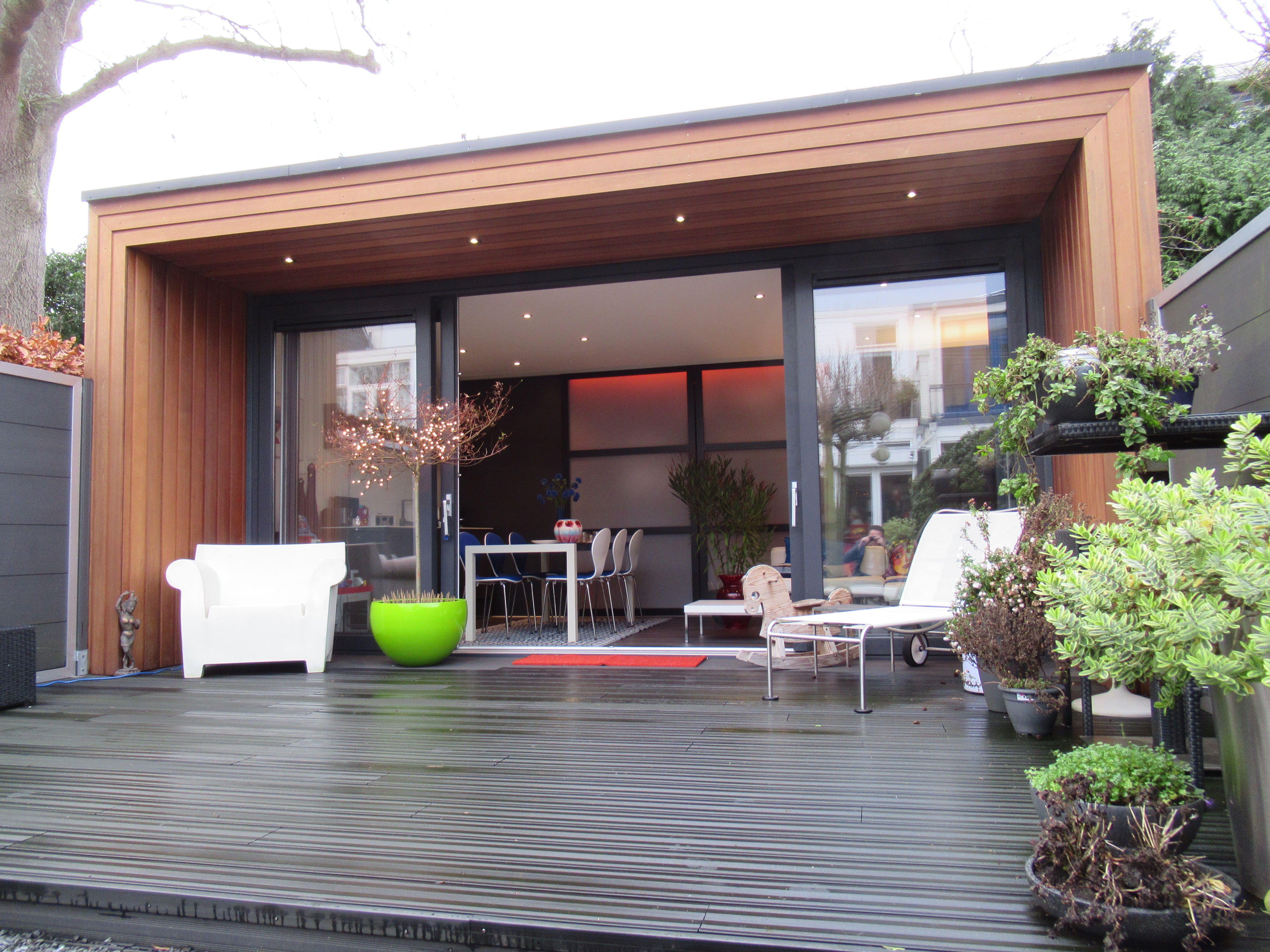 Op zoek naar een modern buitenverblijf gastenverblijf bouwen