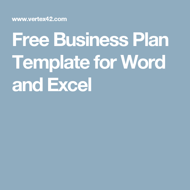 Free business plan template for word and excel small business free business plan template for word and excel wajeb Choice Image