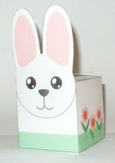 Don't Eat the Paste: Printable Bunny Box
