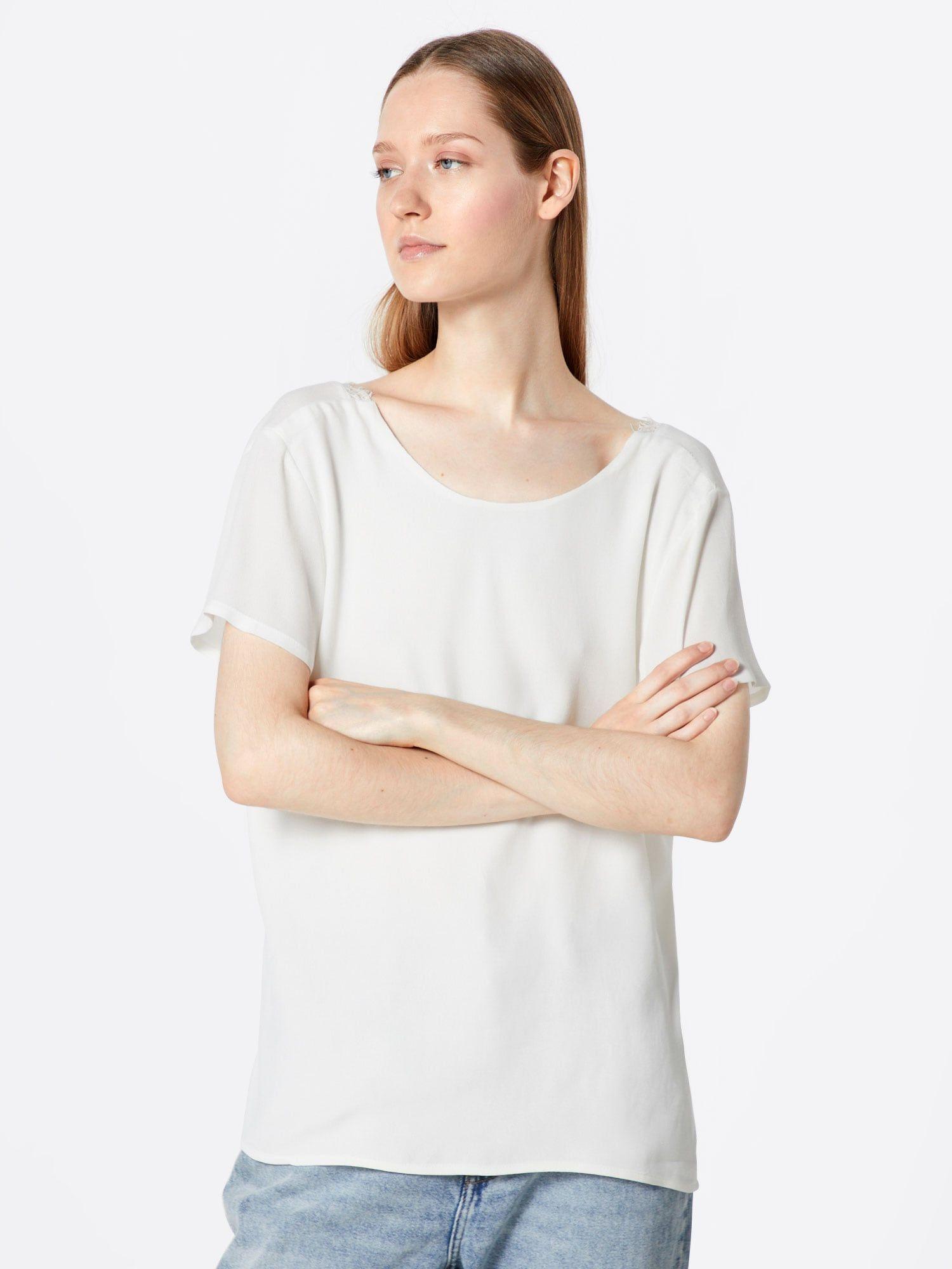 Object T Shirt Lourdes Damen Weiss Grosse Xl Shirts T Shirt Und Damen