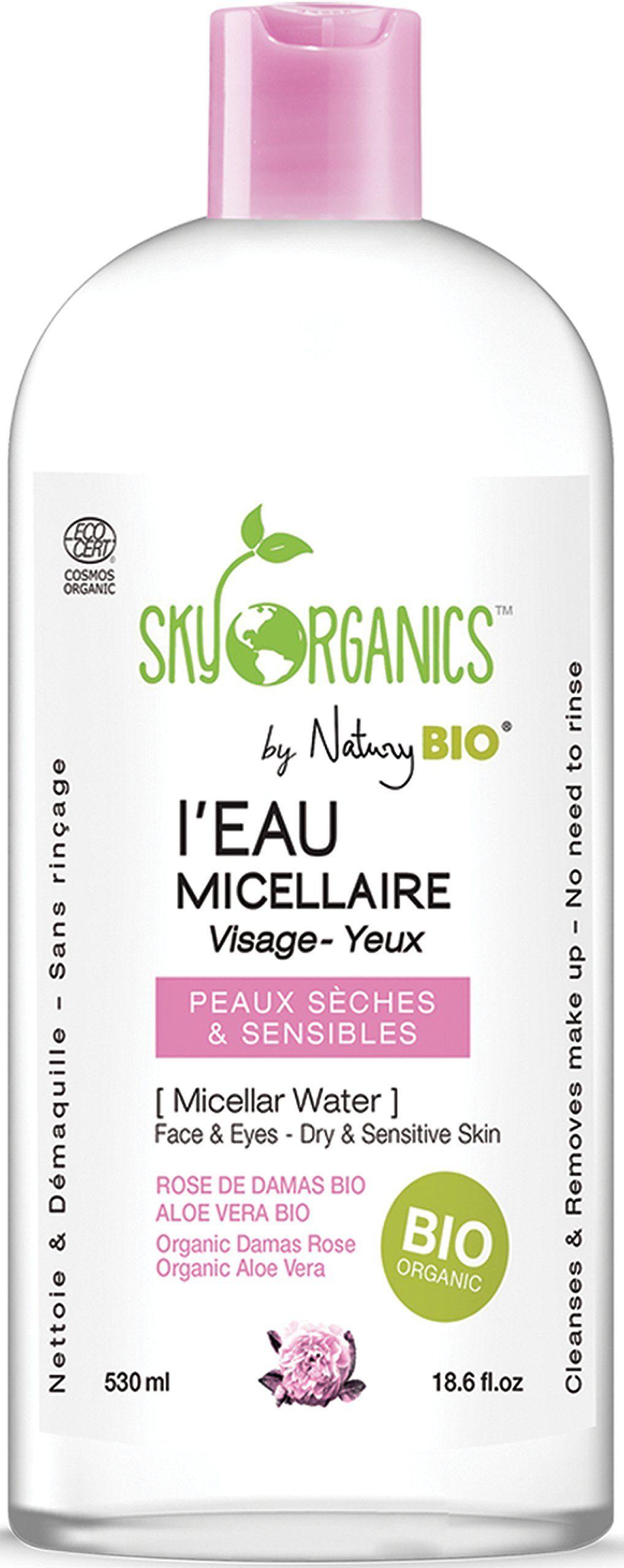 Organic Micellar Cleansing Water by Sky Organics Sensitive