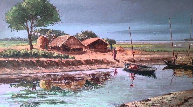 Beautiful Bangladesh Photos Natural Beauty Of Bangladesh Scenery Paintings Watercolor Scenery Painting Watercolor Scenery