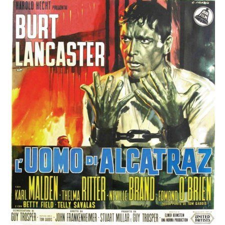 Birdman Of Alcatraz Canvas Art 24 X 36 Poster Lancaster
