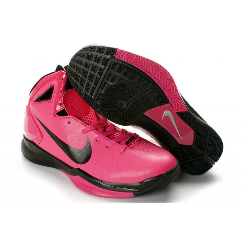 En todo el mundo incrementar herir  Nike Hyperdunk 2010 Mens Basketball Shoes - Pink/Black | Pink tennis shoes,  Pink nike shoes, Pink basketball shoes