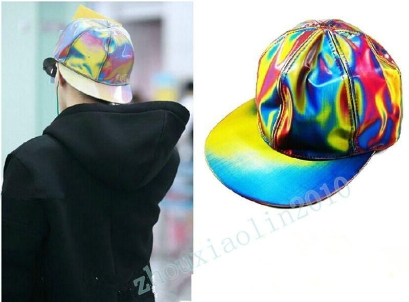 Bigbang G-dragon Color Changing Snapback BACK TO THE FUTURE