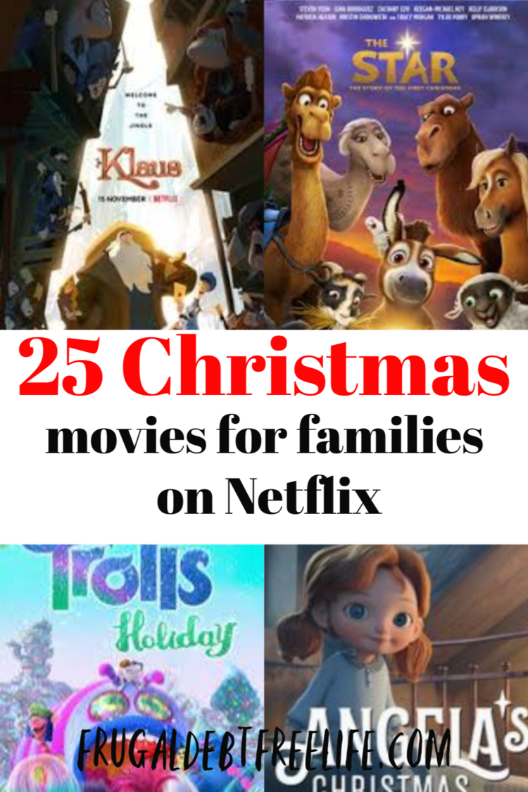 Christmas movies for kids currently streaming on Netflix