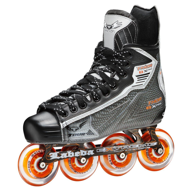 Tour Hockey Thor Bx Pro Inline Hockey Skate Hockey Roller Skates Sports Outdoors Http Www Theskategui Inline Hockey Roller Hockey Skates Inline Skating